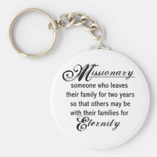Missionary Eternity Basic Round Button Keychain