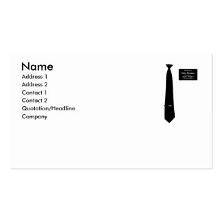 Missionary Romney Costume Business Cards