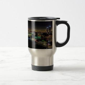 Mississauga, Ontario At Night Travel Mug