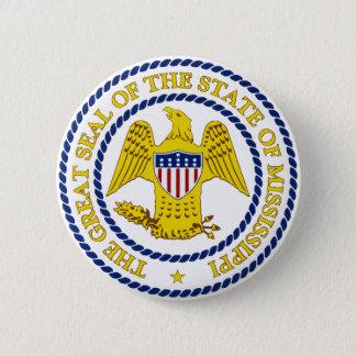 Mississippi 2 Inch Round Button