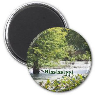 Mississippi 2 Inch Round Magnet