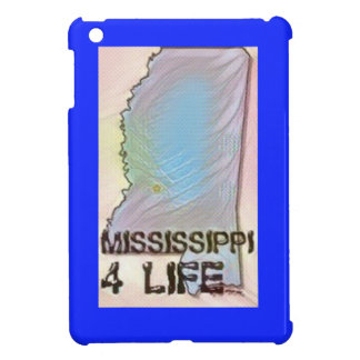 """Mississippi 4 Life"" State Map Pride Design Case For The iPad Mini"