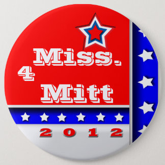 Mississippi 6 Inch Round Button