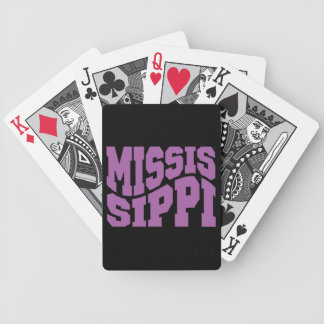Mississippi Bicycle Playing Cards
