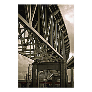 Mississippi Bridges Trusses Photo Print