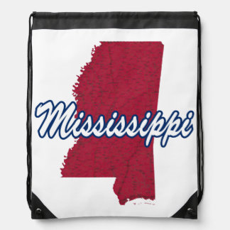 Mississippi Drawstring Bag