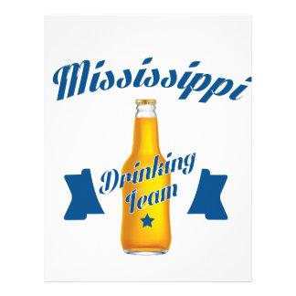 Mississippi Drinking team Letterhead