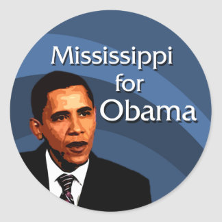 Mississippi for Obama Stickers