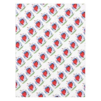mississippi head heart, tony fernandes tablecloth