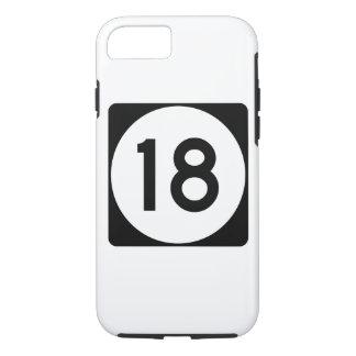 Mississippi Highway 18 iPhone 8/7 Case