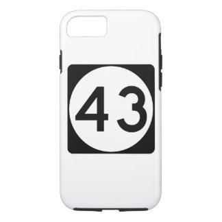 Mississippi Highway 43 iPhone 8/7 Case