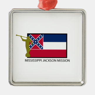 MISSISSIPPI JACKSON MISSION LDS CTR METAL ORNAMENT