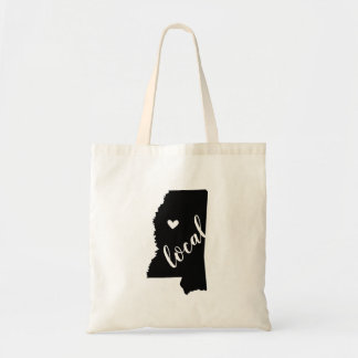 Mississippi Local State Tote Bag