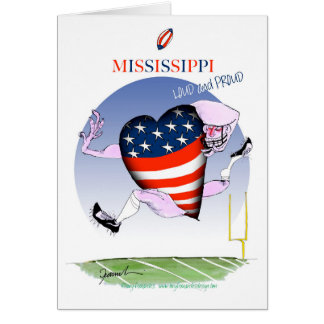 mississippi loud and proud, tony fernandes card