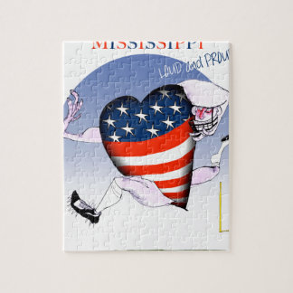 mississippi loud and proud, tony fernandes jigsaw puzzle