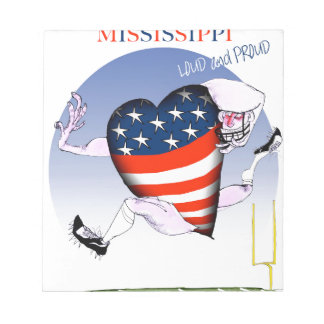 mississippi loud and proud, tony fernandes notepad
