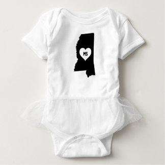 Mississippi Love Baby Bodysuit