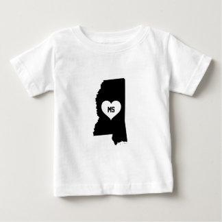Mississippi Love Baby T-Shirt