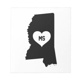 Mississippi Love Notepad