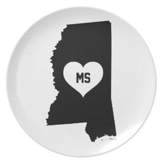 Mississippi Love Plate