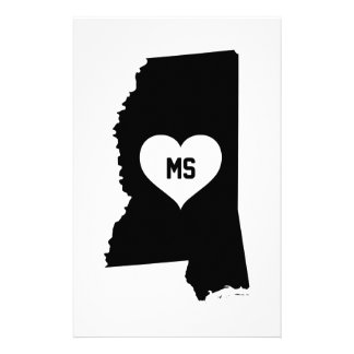 Mississippi Love Stationery