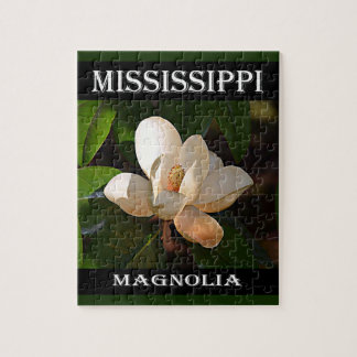 Mississippi Magnolia Jigsaw Puzzle