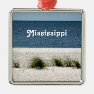 Mississippi Metal Ornament