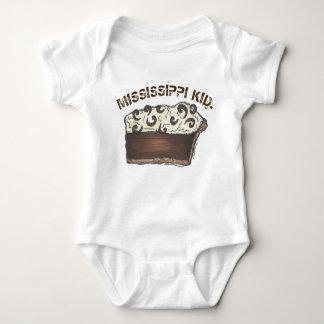 Mississippi MS Kid Chocolate Mud Pie Mudpie Slice Baby Bodysuit
