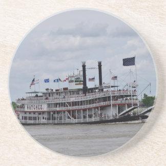 Mississippi River Boat New Orleans Beverage Coasters