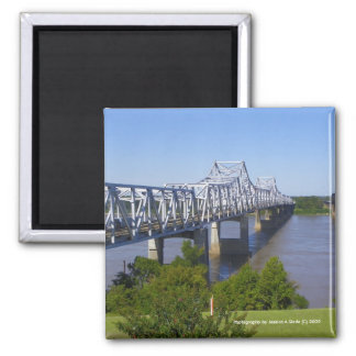 Mississippi River Bridge Magnets