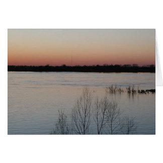 Mississippi River Card