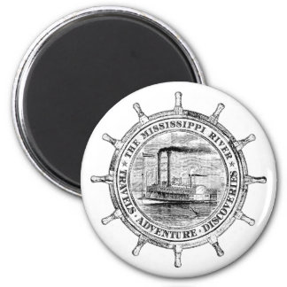 Mississippi River. Travels. Adventure. Discoveries Magnet