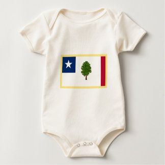 Mississippi  Secession Flag Baby Bodysuit
