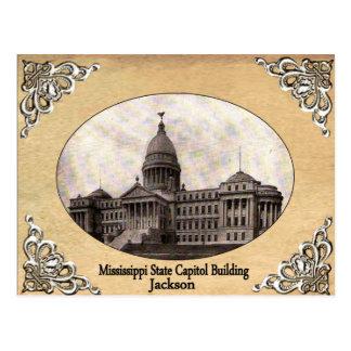 Mississippi State Capitol Old Postcard
