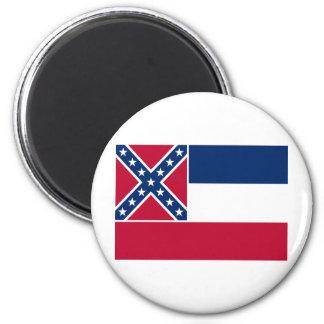 Mississippi State Flag Magnet