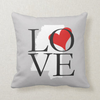 Mississippi State Love Pillow