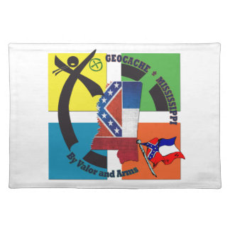 MISSISSIPPI STATE MOTTO GEOCACHER PLACEMAT