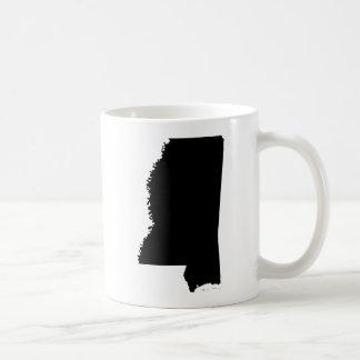 Mississippi State Outline Coffee Mug
