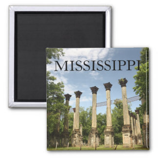 MISSISSIPPI - Windsor Ruins Souvenir Magnet