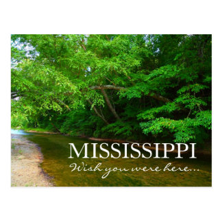 MISSISSIPPI - Wish you were here - McGehee Creek Postcard