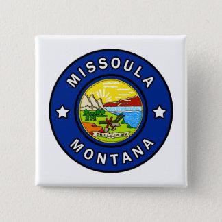 Missoula Montana 2 Inch Square Button