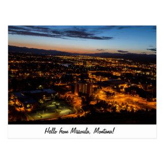 Missoula, Montana Postcard