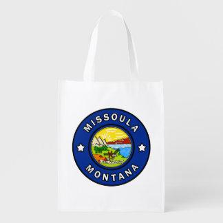 Missoula Montana Reusable Grocery Bag