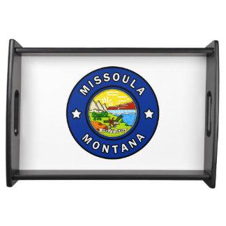 Missoula Montana Serving Tray