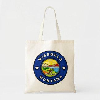 Missoula Montana Tote Bag