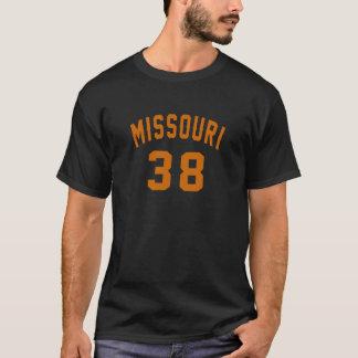 Missouri 38 Birthday Designs T-Shirt