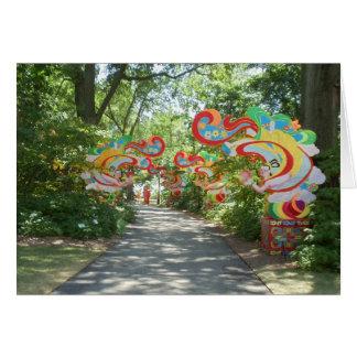 Missouri Botanical Gardens Card