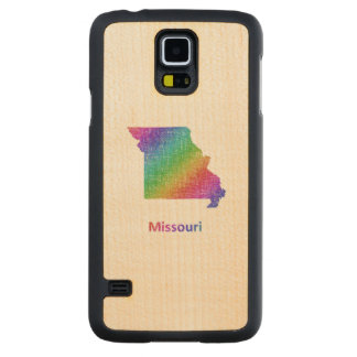 Missouri Carved Maple Galaxy S5 Case