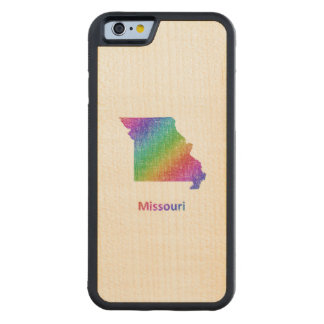 Missouri Carved Maple iPhone 6 Bumper Case