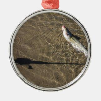 Missouri Catfish Metal Ornament